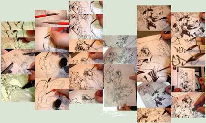 How I Ink : Nib by eDufRancisco