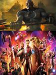 Darkseid vs The Avengers