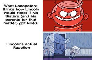 Locopoton1 Lincoln vs Real Lincoln Reaction