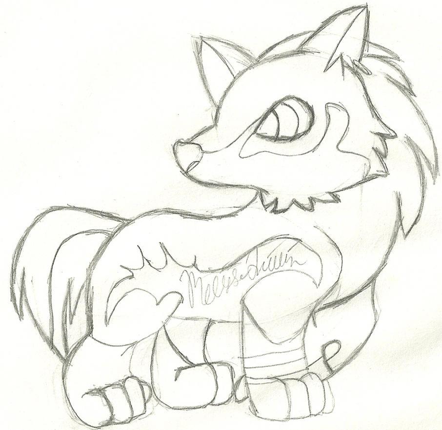 Chibi Wolf Link by yasminload63 on DeviantArt