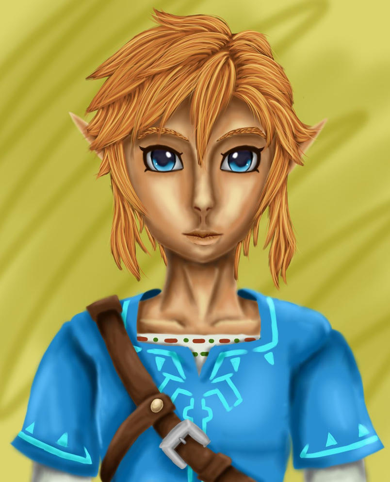 Link Breath of the Wild by yasminload63