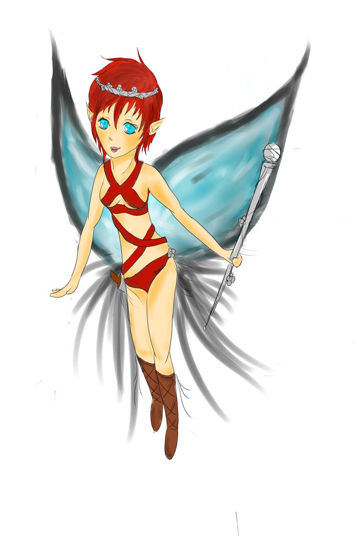 pixie fairy by blehhxp on deviantart