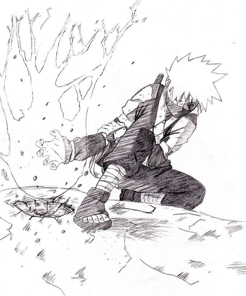 Young Kakashi chidori by kasaru on DeviantArt