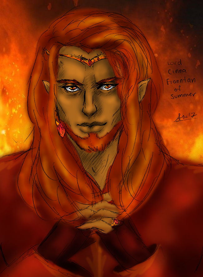 ZUBA: Lord Cinaed Fionntan (Color) by SuperAiko