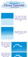 Tutorial: Paint Tool Sai Clouds