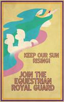 Pony Propaganda: Keep Our Sun Rising! by Shrineheart