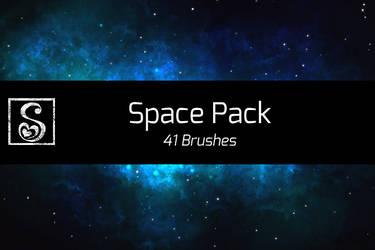 Manga Studio 5 Space Pack - 41 Brushes