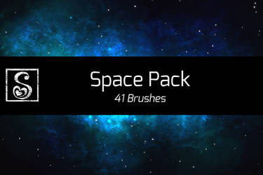 Manga Studio 5 Space Pack - 41 Brushes by Shrineheart