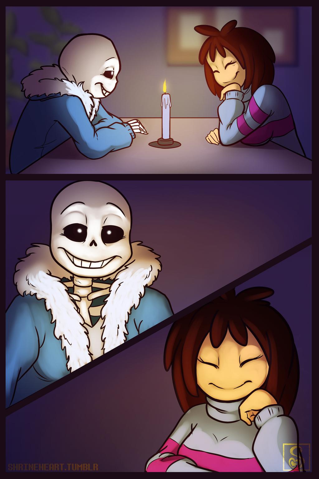 Gift Art: Date Night by Shrineheart on DeviantArt