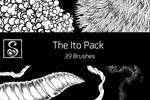 Shrineheart's Ito Brush Pack - 39 Brushes