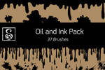 Shrineheart's Oil and Ink Pack - 37 Brushes