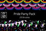 Shrineheart's Pride Party Pack - 219 Brushes