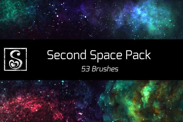 Shrineheart's Second Space Pack - 53 Brushes by Shrineheart
