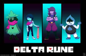 Delta Rune: New Children by Shrineheart
