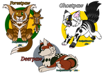 Warrior Cats Adopts (1/3 Open lower price) by AkuStarlight