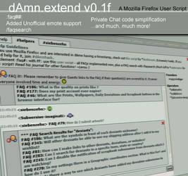 dAmn.extend - a dAmn extension