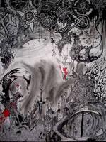 Hell Scene 1 by PorPorCoro