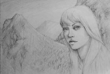 Mountain Girl by Ciuva