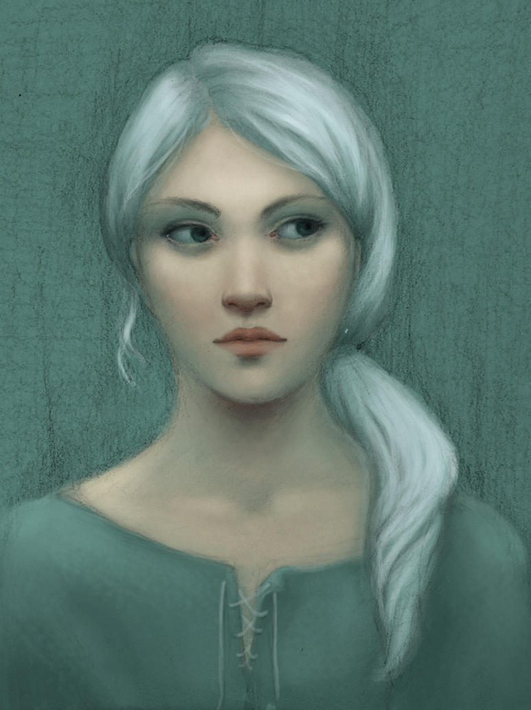 Shanni portrait by Ciuva