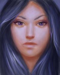 Winter portrait  by Ciuva