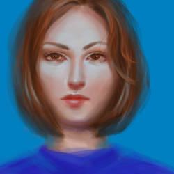 Blue redone by Ciuva