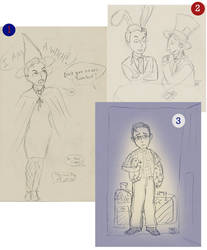 Rally Sketches by thngwhtsqks