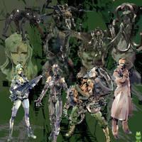 Metal Gear Evolution by Xerovas