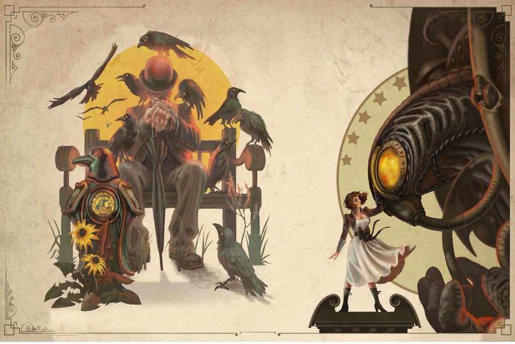 Bioshock Infinite by Xerovas