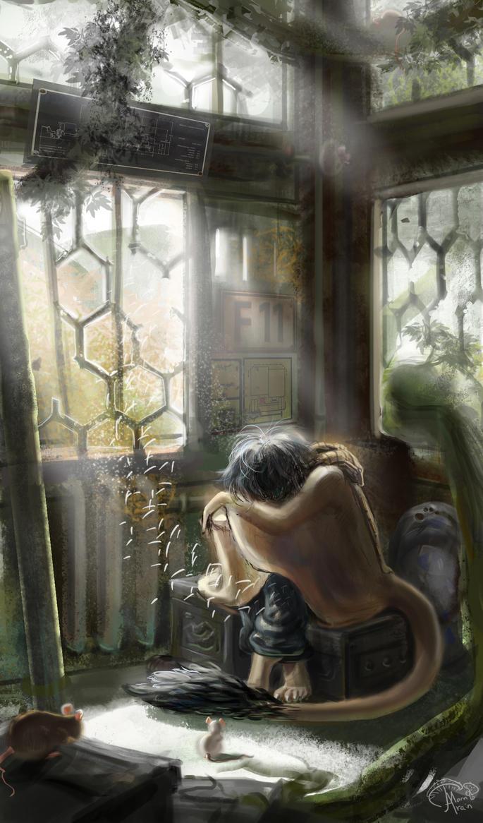 BaLu: Quiet solitude by ArainMorn