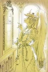 MLP: Renaissance Twilight - WIP by ArainMorn