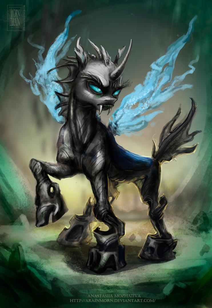 Ut Quest Login >> MLP: Equestria Epic - Changeling by ArainMorn on DeviantArt