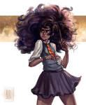 Harry Potter - Black Hermione
