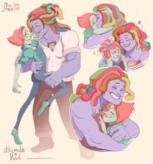 SU: Bismuth x Pearl