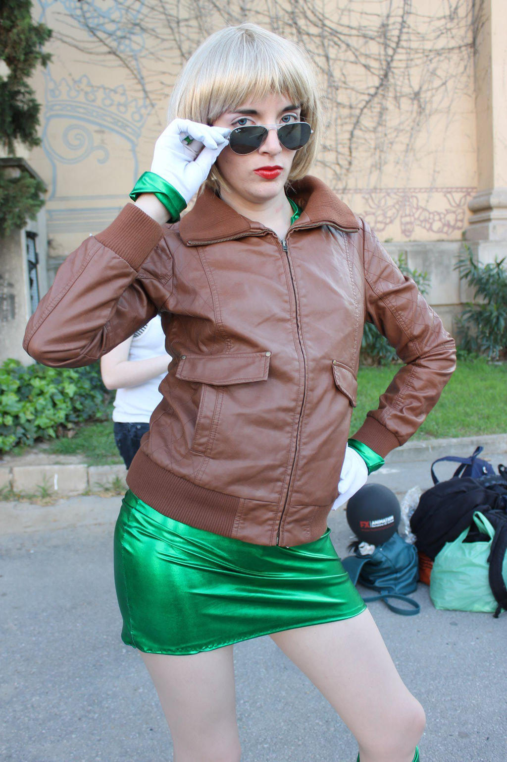 Cosplay Green Lantern Arisia   Green Lantern Arisia Rrab