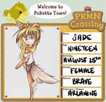 PKMN Crossing Application - Sade