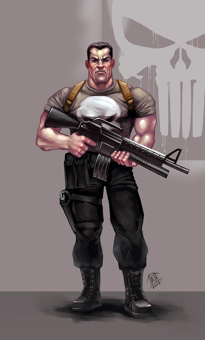 Punisher by Pa-Go