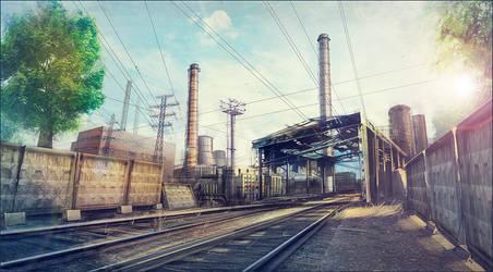 Industrial area concept-art 02