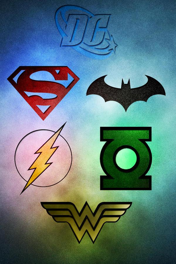 DC Comics Logos By Radoh777