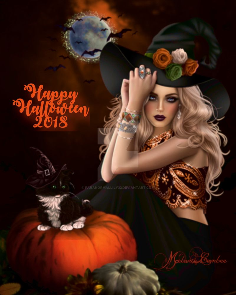 Happy Halloween 2018 by paranormallily32