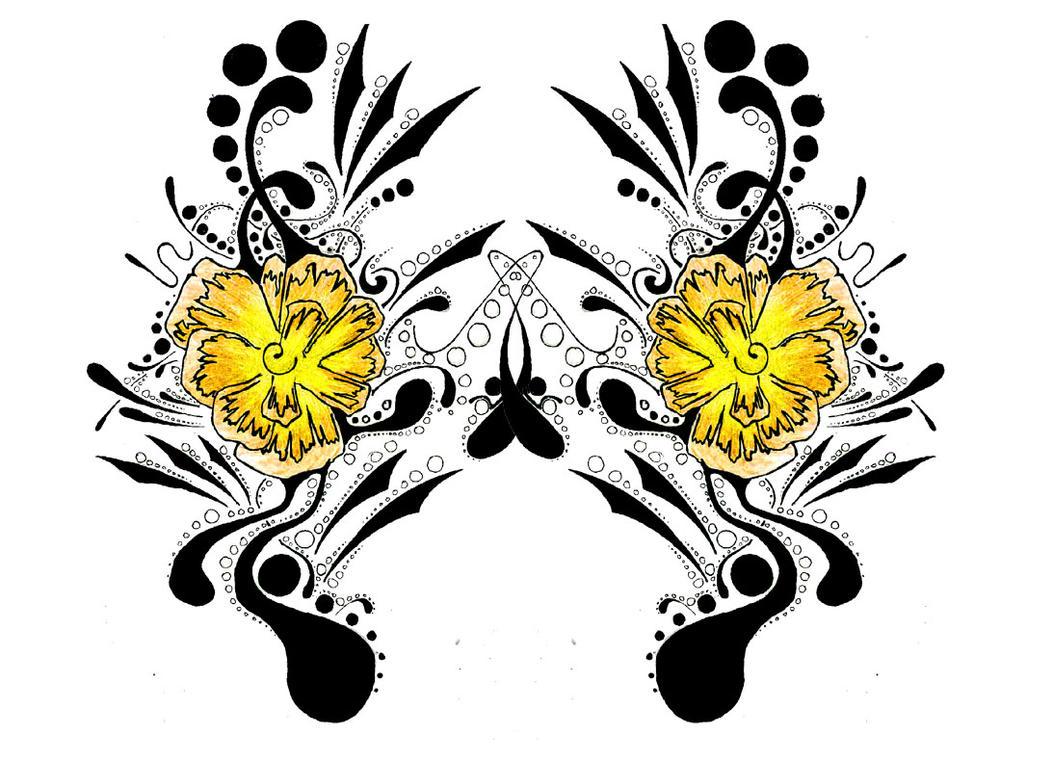 Flower - flower tattoo