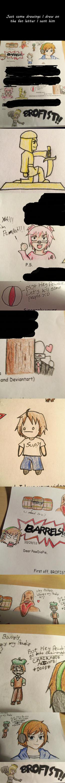 PewDiePie Fan Letter Drawings by mizuki12341