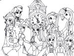 My Little Pony-Equestria Girls:Bad End Night by mizuki12341