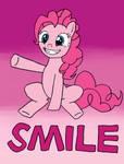 Pinkie Pie-Smile (Color) by mizuki12341
