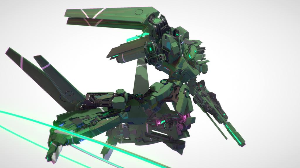 KG-7 Areion AZ Custom by xrunpet