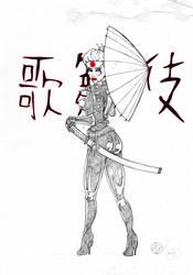 kabuki scarab by RAYN3R-4rt