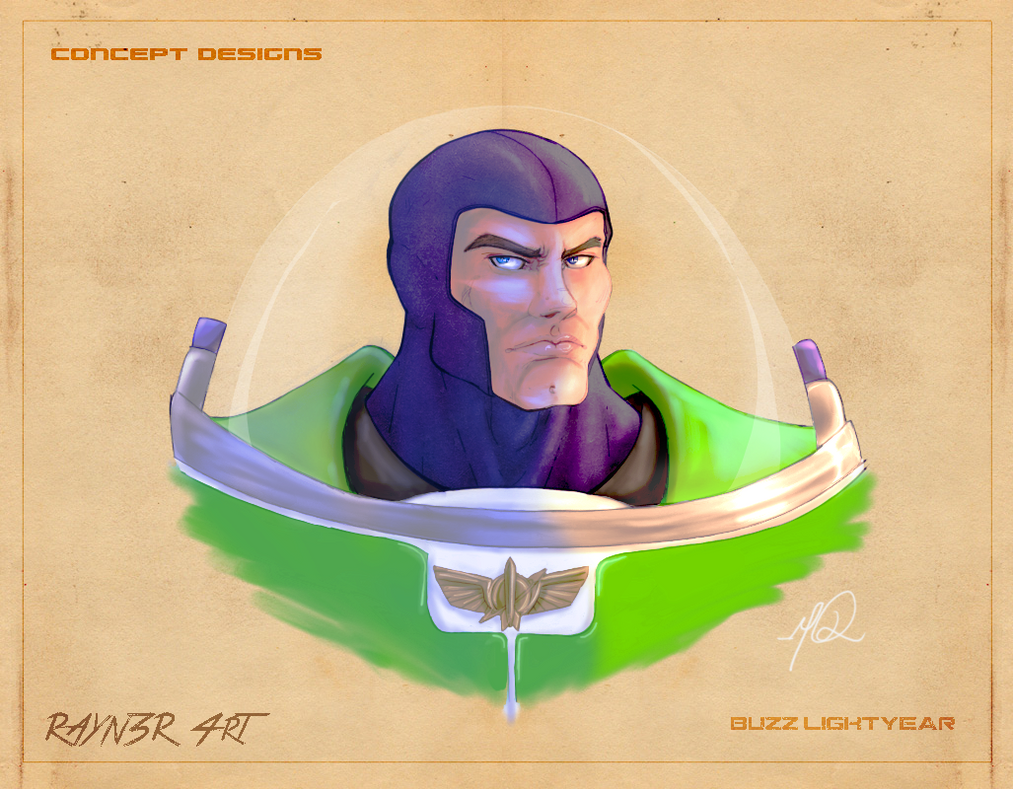 Buzz bust shot by RAYN3R-4rt