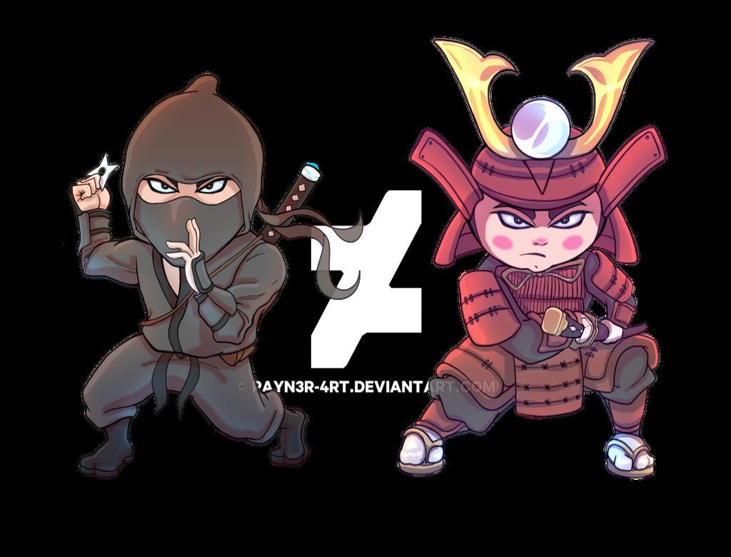 Ninja vs samurai game