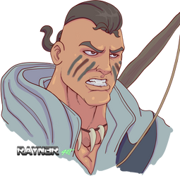 Connor head commission by RAYN3R-4rt