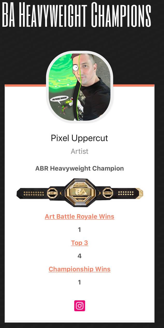 Art Battle Champion by V4VOLTAGE