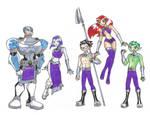 Teen Titans Tamaranian Style